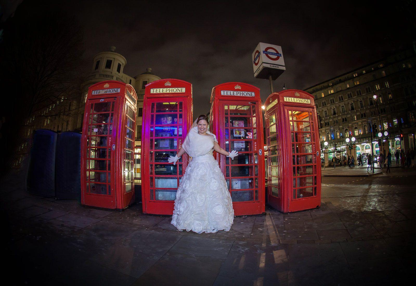Charing Cross wedding photo
