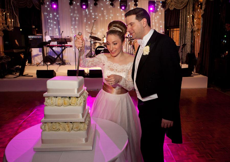 Dorchester Wedding Cake Shot