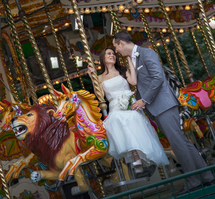 London Zoo Carousel Wedding picture