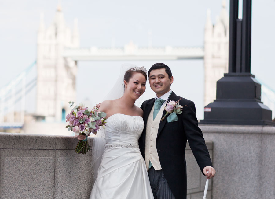 Wedding Photographers Tower Bridge