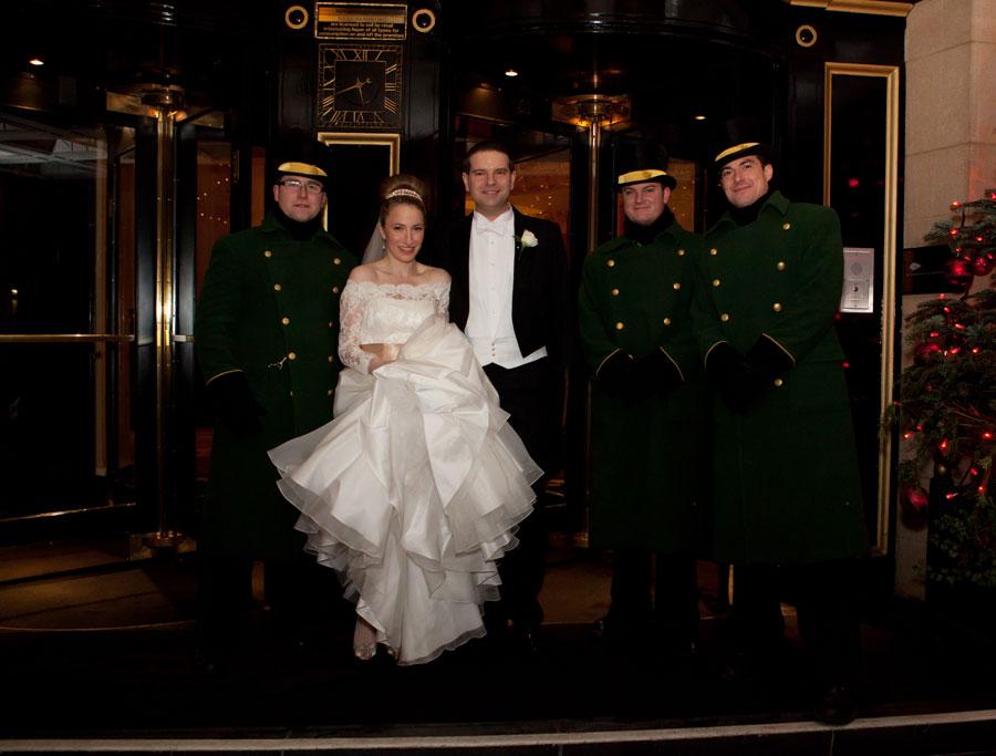 Wedding Photos at the Dorchester Hotel