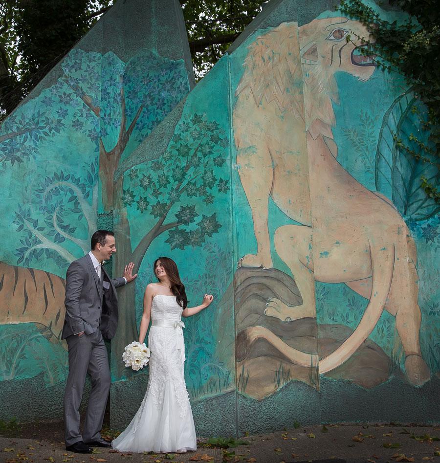 Weddings at London Zoo September shot