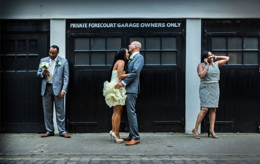 Marylebone Wedding Photo London