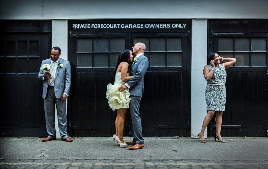 Marylebone Wedding Photo London