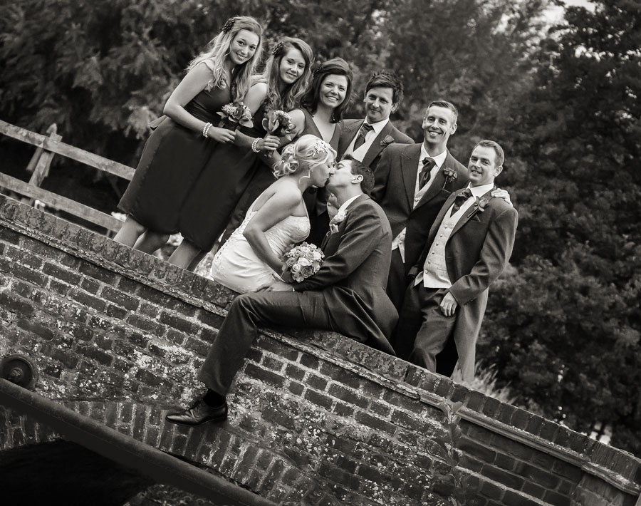 Wedding Photographer Tewin Bury Farm
