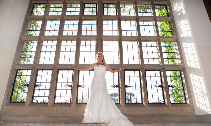 Bride Photos Fanhams Hall