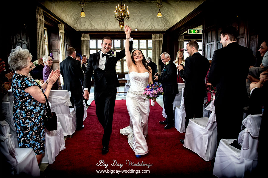 Fantastic Fanhams Hall wedding photos
