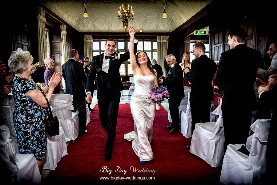 Fantastic Fanhams Hall wedding photos