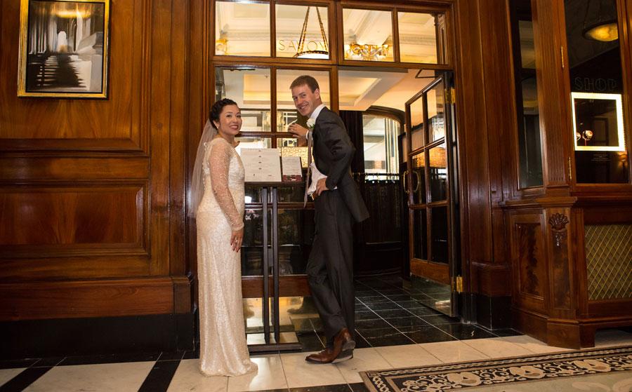 Savoy Grill wedding image