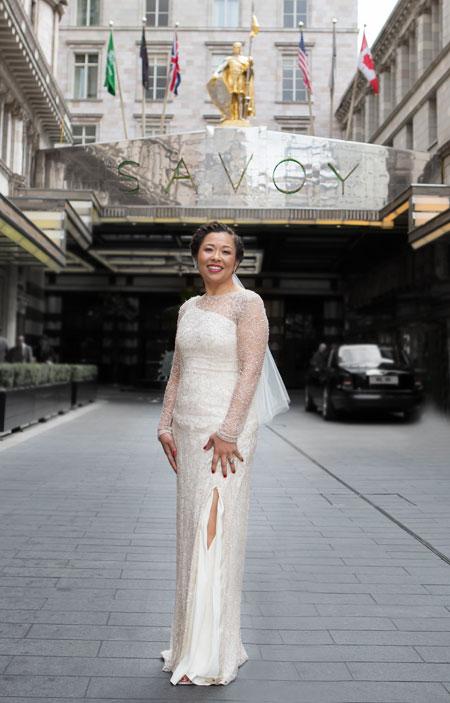 Wedding photos the Savoy