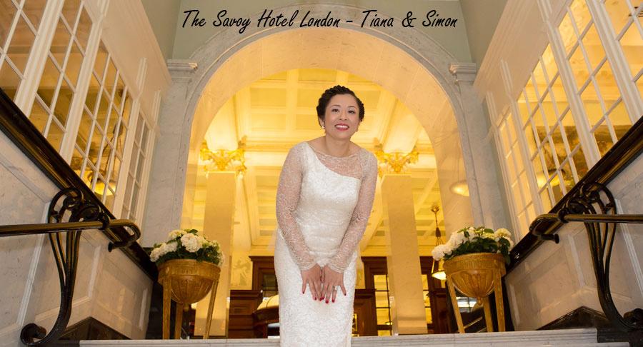 Savoy Hotel Wedding Photographers