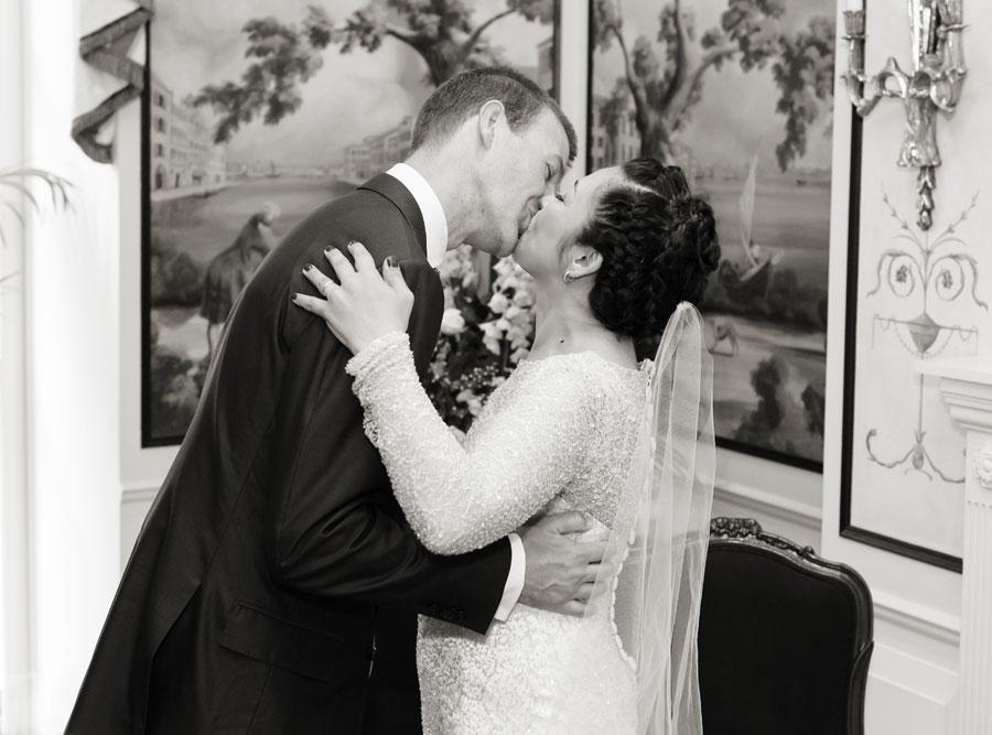 Savoy Wedding Kiss