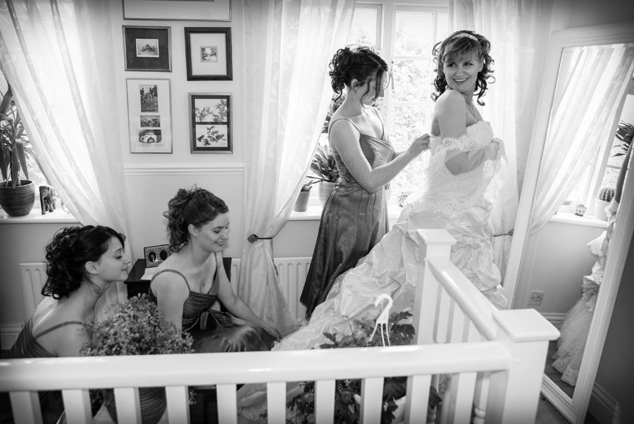 Bridal Prep London Wedding Photographer