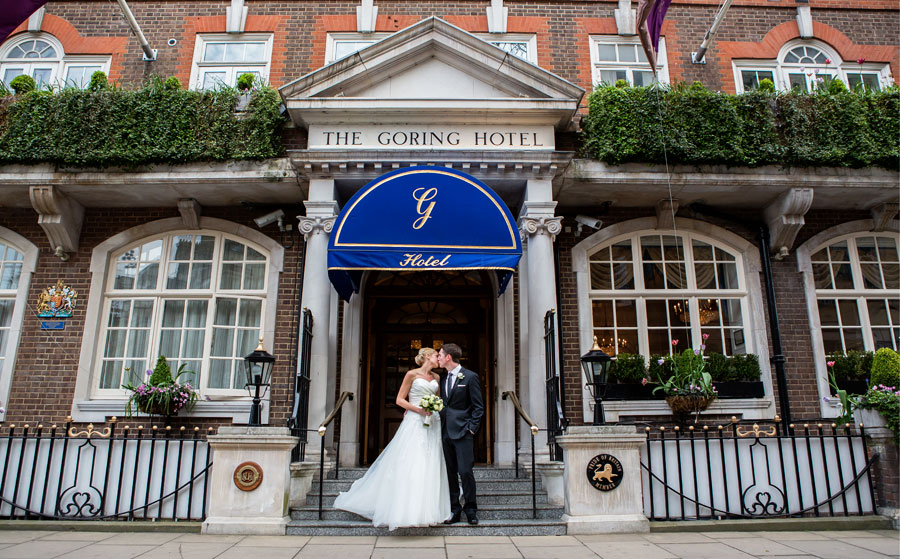 Wedding at the Goring Hotel London