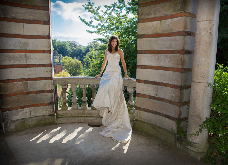 Hampstead wedding view photo