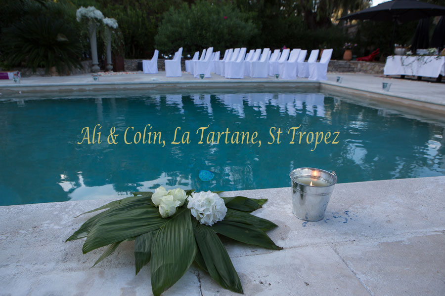 Hotel La Tartane wedding