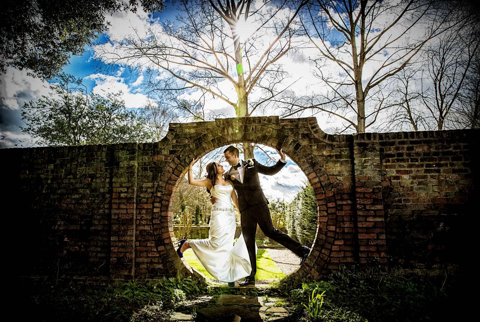 Favourite Fanhams Hall wedding photo