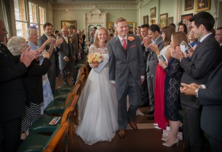 Lords Long room wedding ceremony