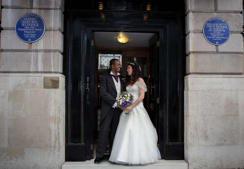 Landsdowne House wedding photos