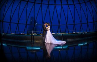 London Gherkin wedding photographer