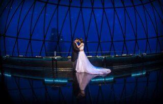 London Gherkin wedding photographer