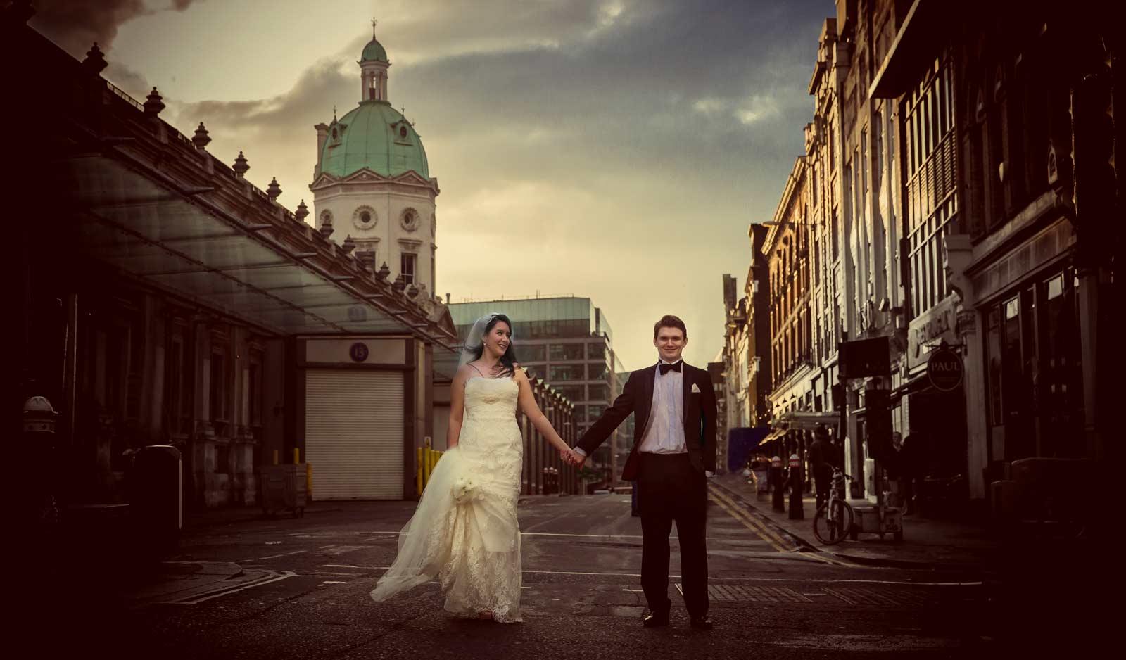 London Smithfield wedding portfolio