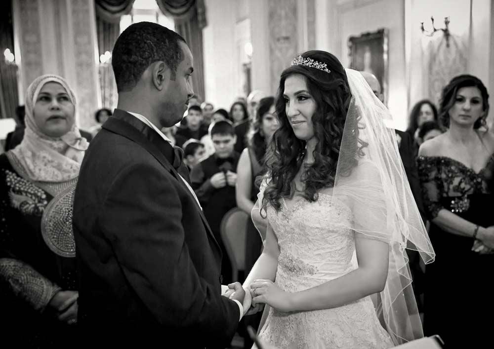 Wedding ceremony at Landsdowne Club
