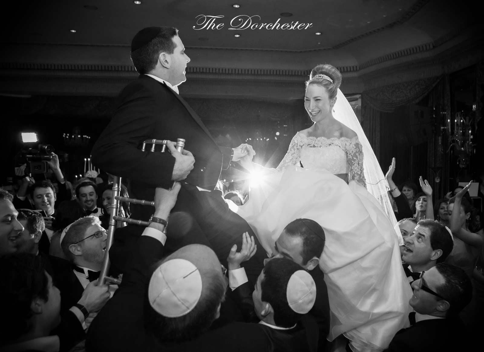 Dorchester Hotel wedding Israeli dance