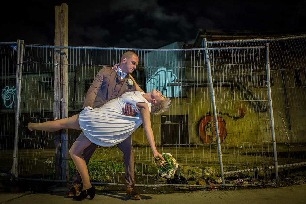 Hoxton street wedding dance
