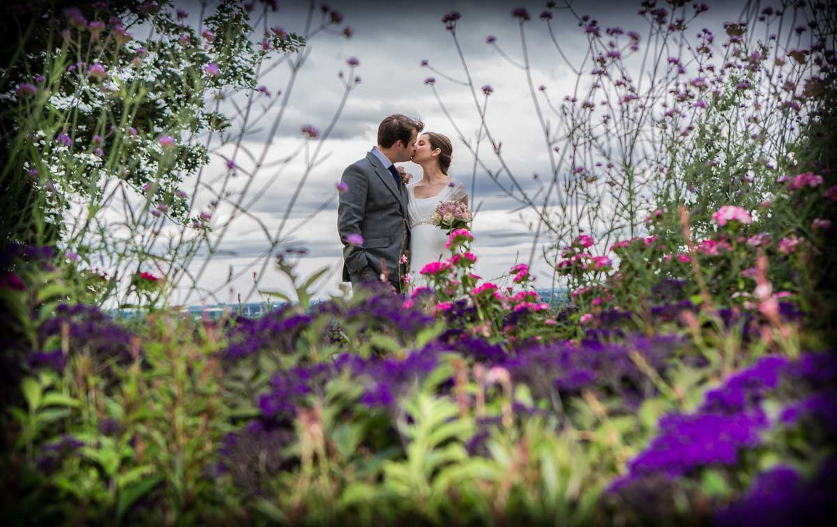 Richmond park wedding image