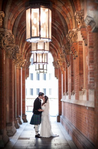 St Pancras station wedding