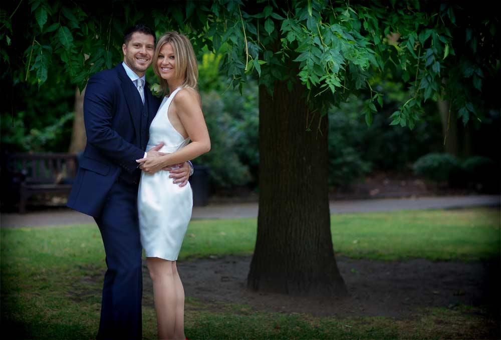 Chelsea park wedding photos