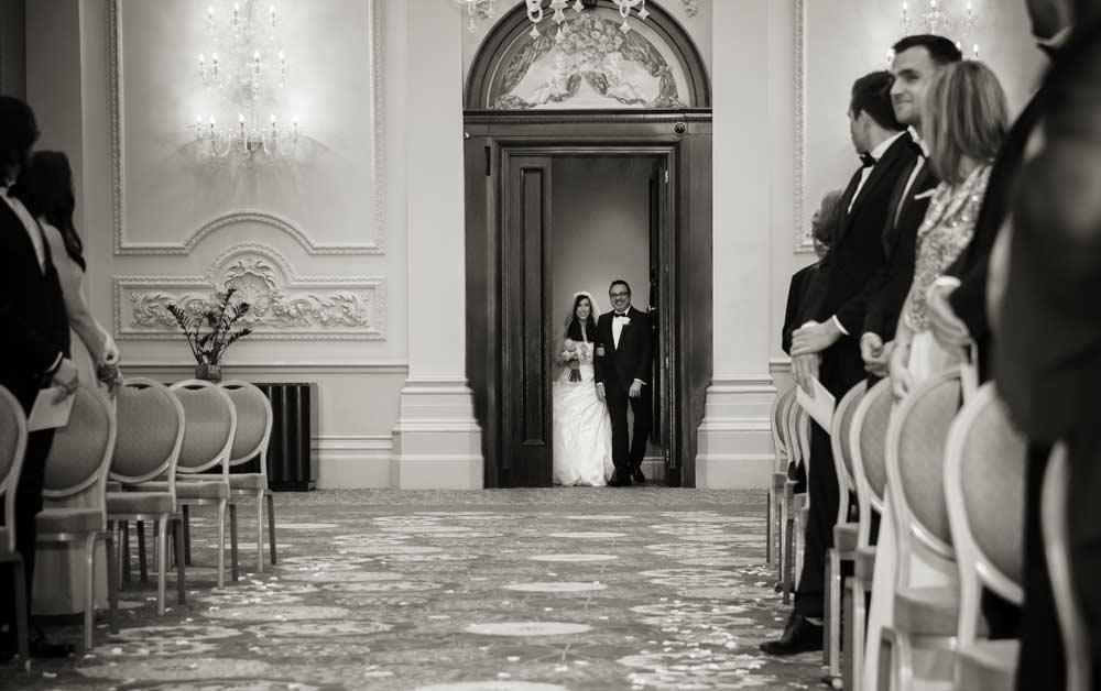 wedding ceremony Langham hotel