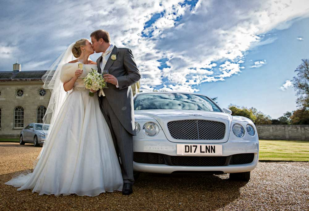 Woburn wedding photographer car photo