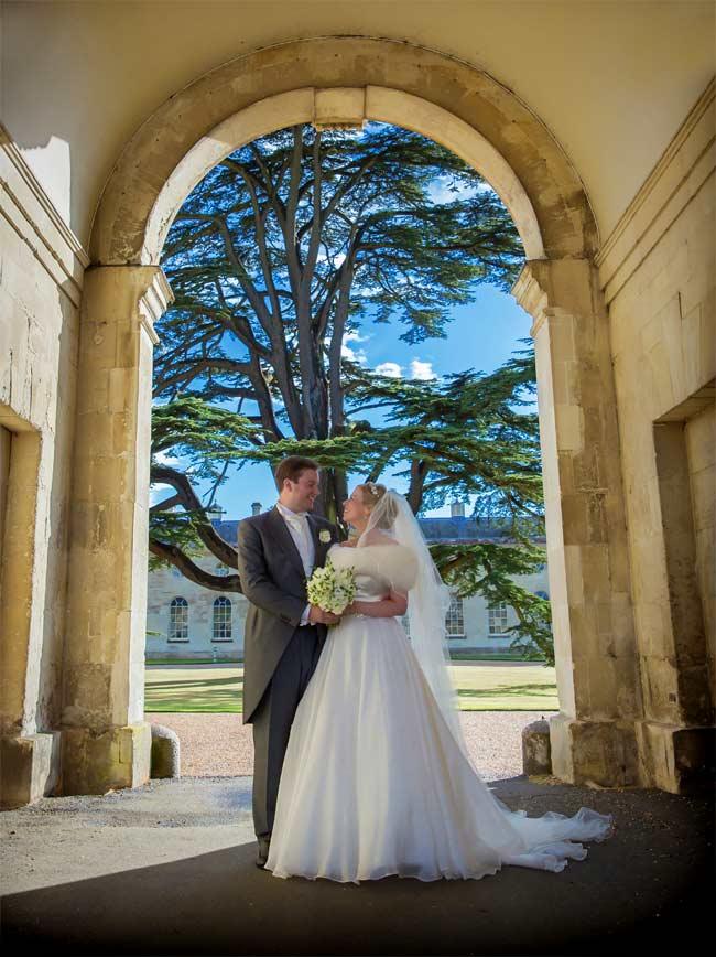 stone arch woburn wedding photographer