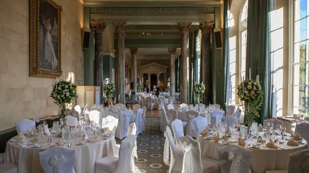 woburn sculpture gallery wedding breakfast room