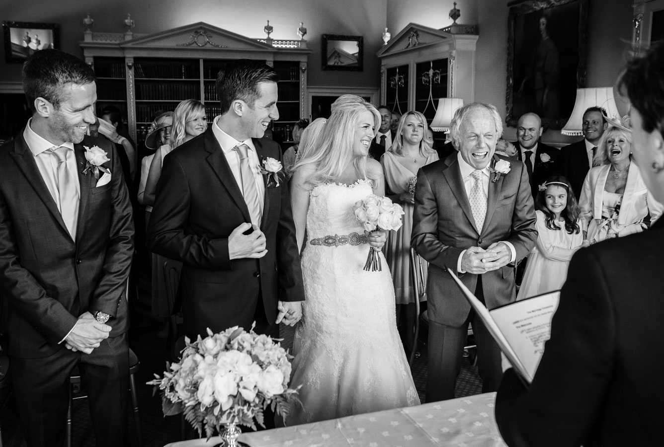 Brocket Hall Wedding ceremony image