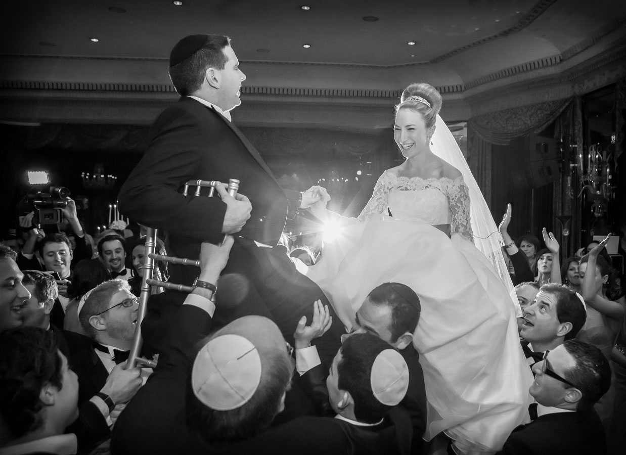 Jewish wedding Dorchester Hotel photographers