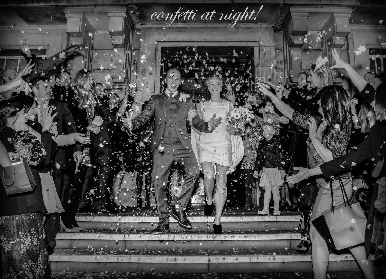 Wedding Confetti, where did it come from, and where is it going? Throwing it out there! London Wedding Photographers