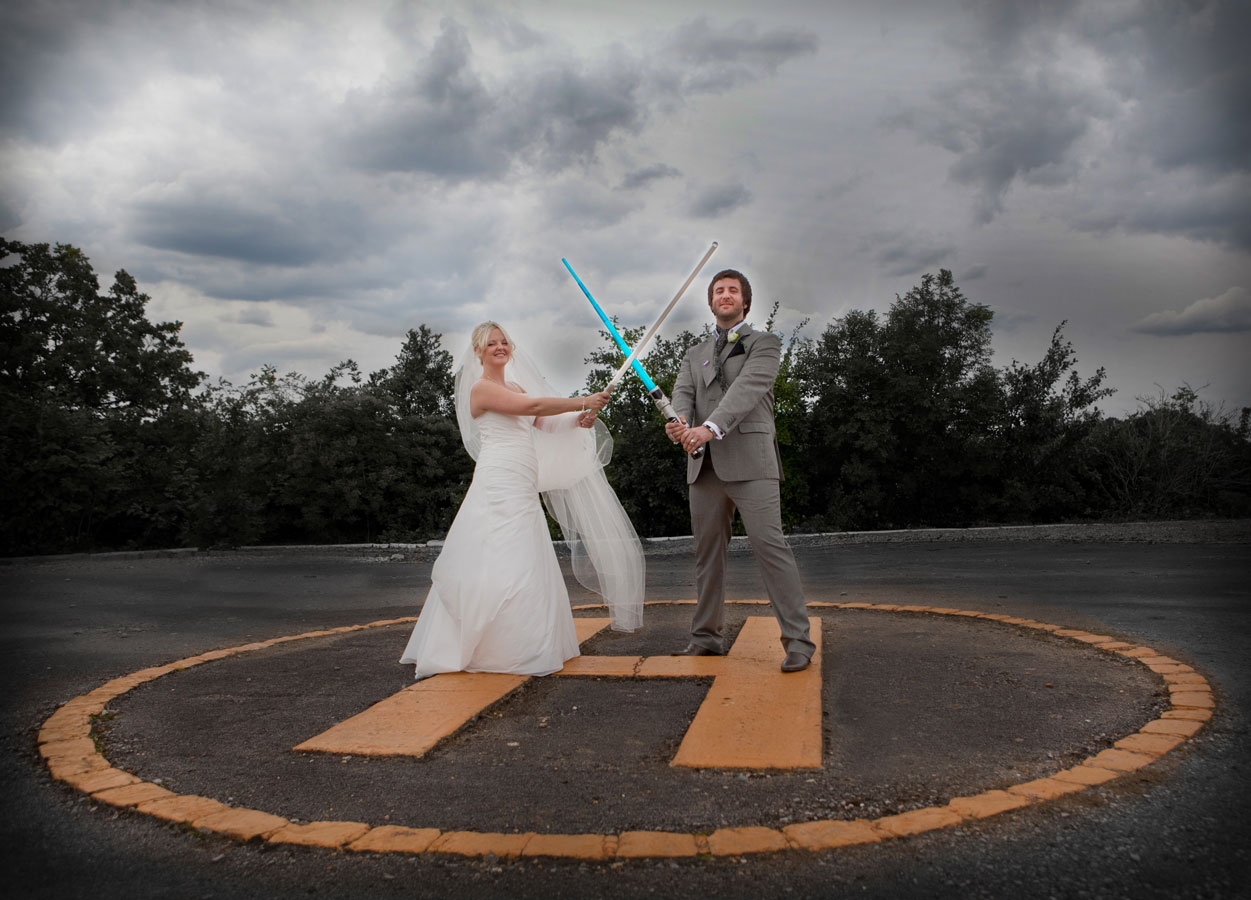 star wars themed wedding image Enfield