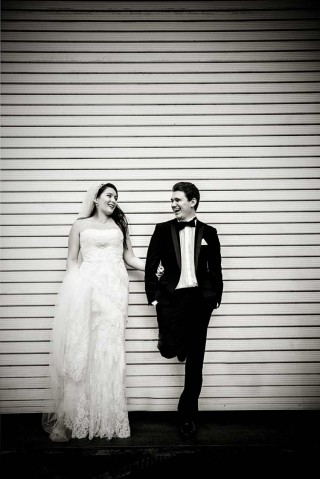 wedding couple in Smithfield London