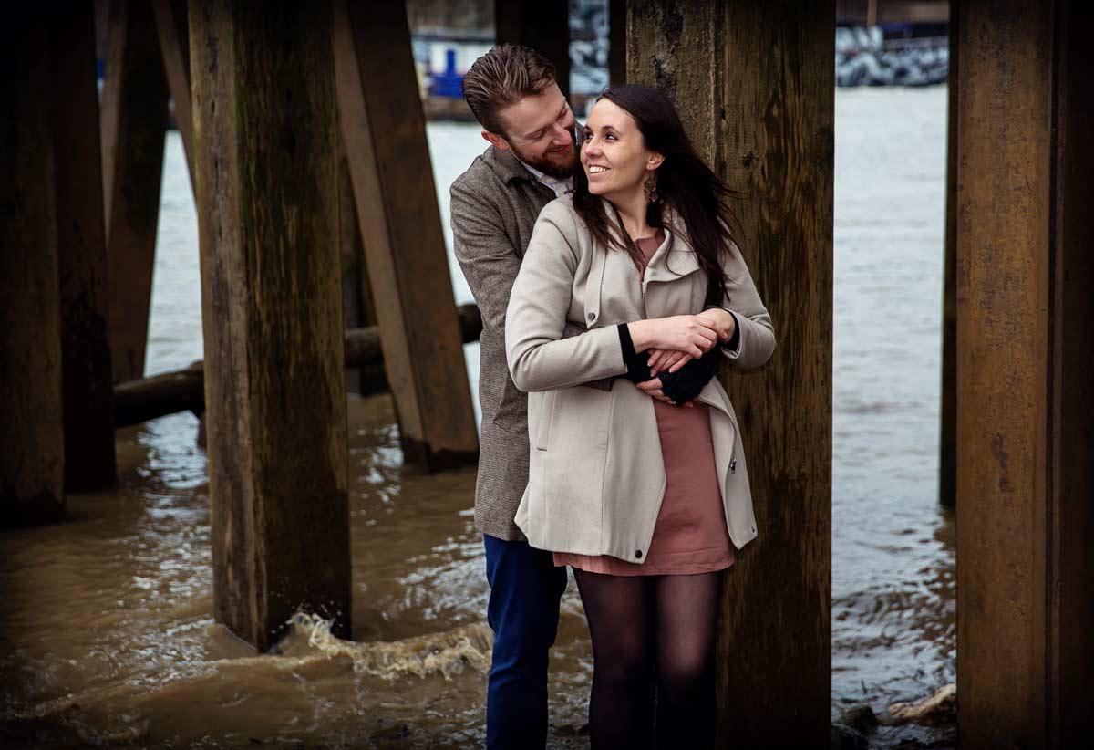 London southbank engagement shoot