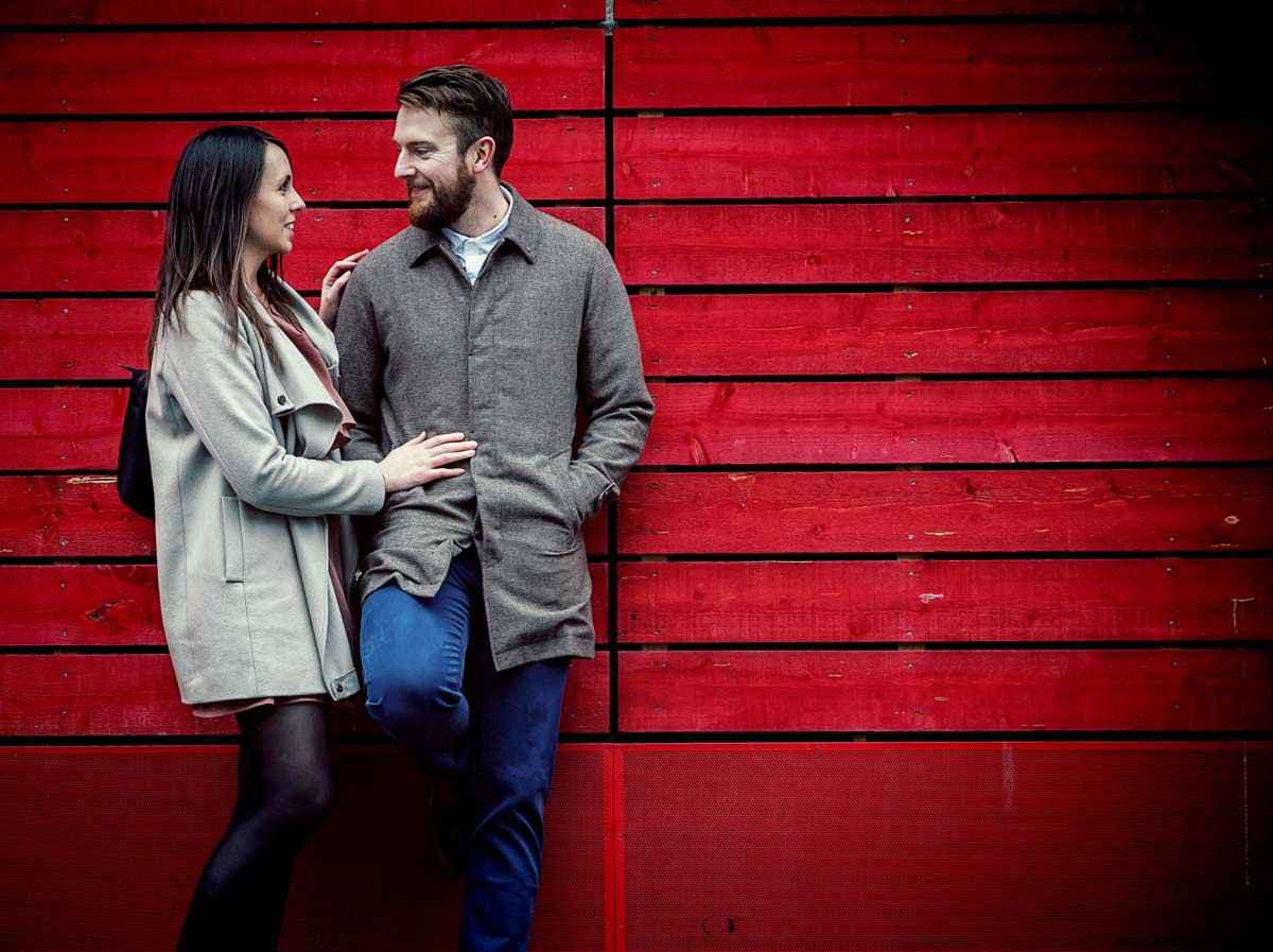 wedding couple at London southbank