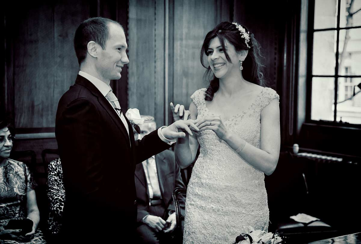 Camden town hall wedding ceremony