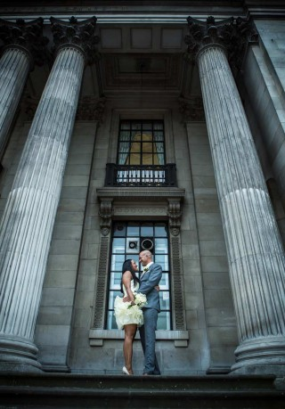 Old Marylebone Town Hall wedding image