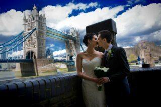 Tower Bridge wedding photographer London
