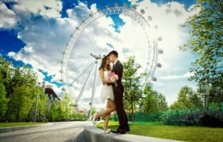 London Eye Wedding Photographers image