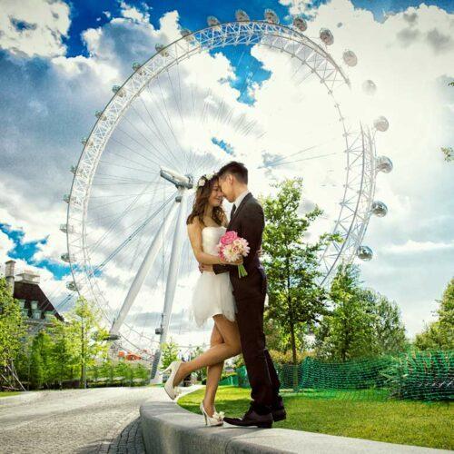 London Eye Wedding Photographers image