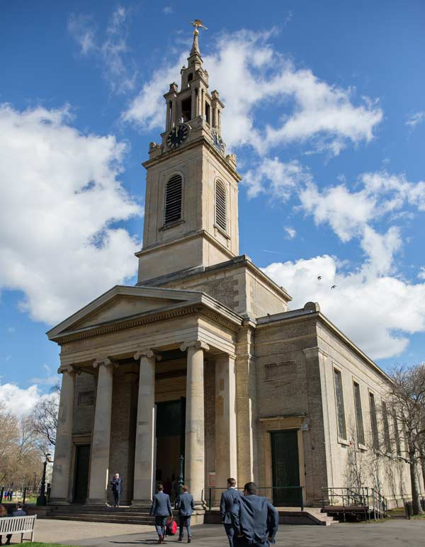 St James church Bermondsey London photo