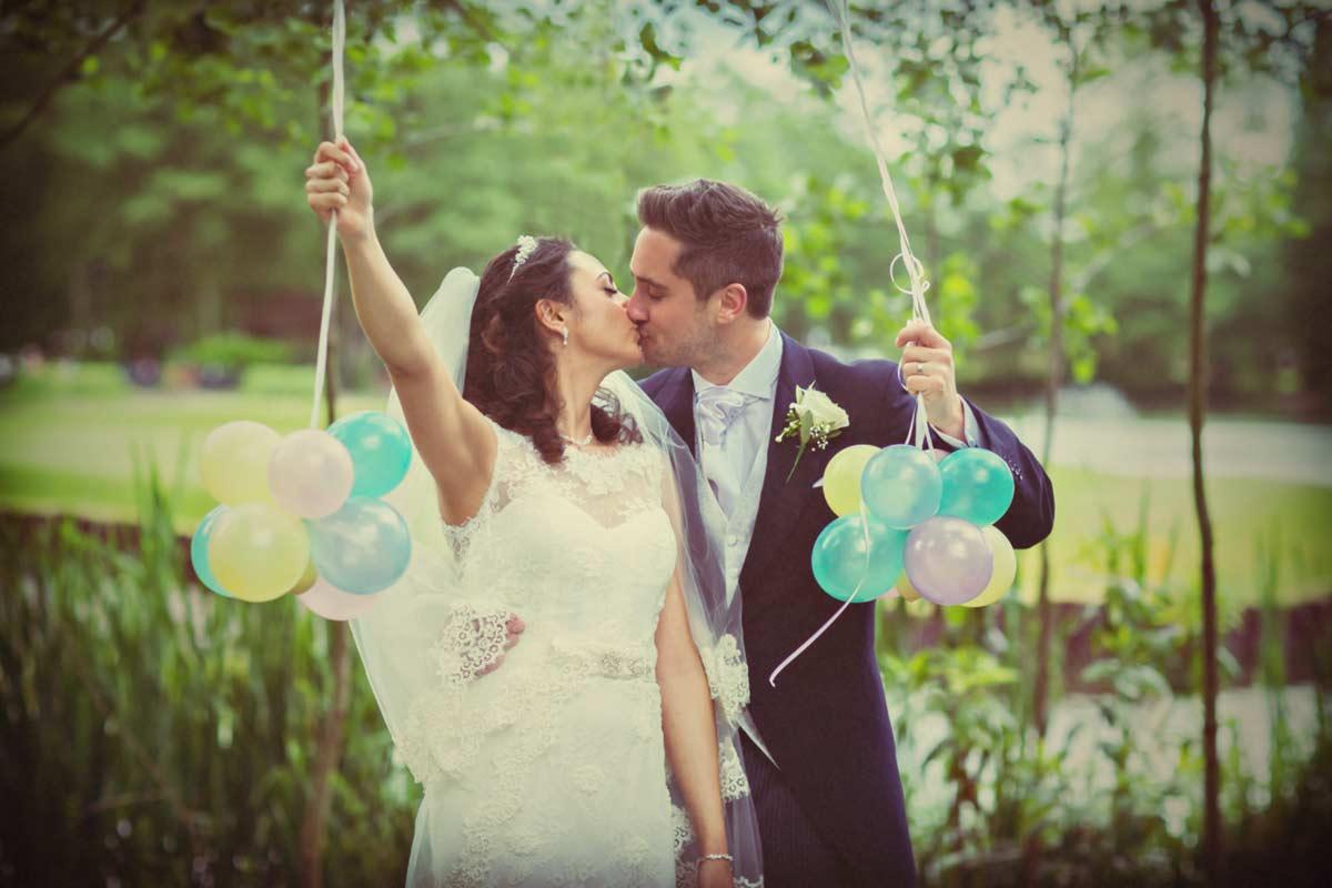 Best Italian wedding in Woking main image